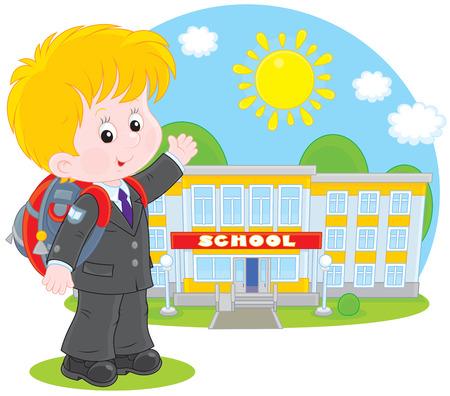 Schoolboy Stock Vector - 26775805