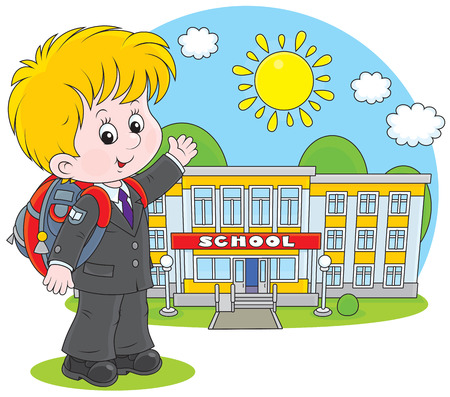 child of school age: Elementary school student
