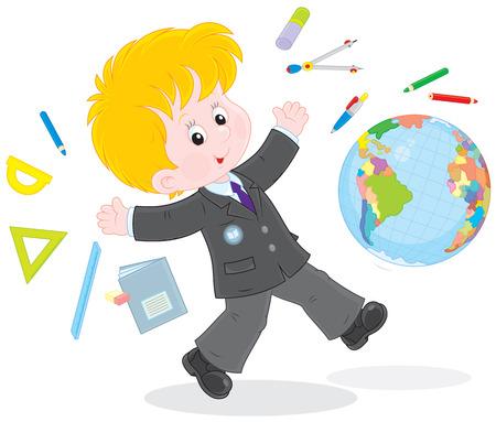 first grader: School vacation