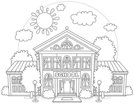 School illustration Vector