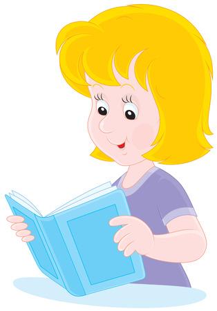 Reader cartoon  Vector
