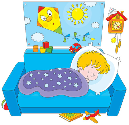 kiddy: Child sleeping