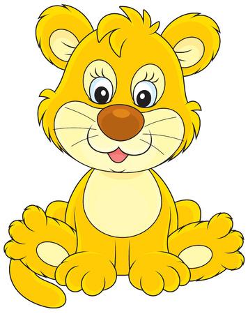 lion baby: Baby Lion Vettoriali