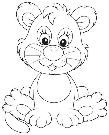 leon bebe: Cachorro de león