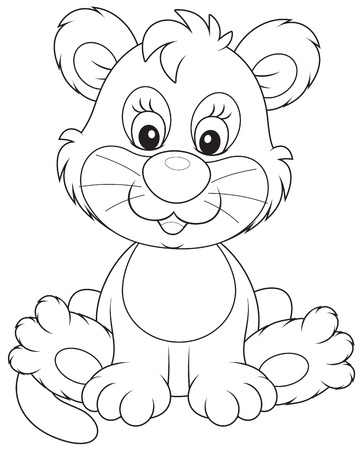 whelps: Lion cub