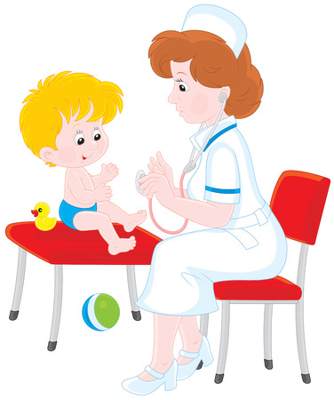 child of school age: Medical examination
