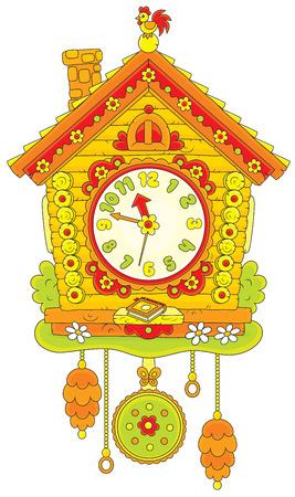 old clock: Cuckoo Clock