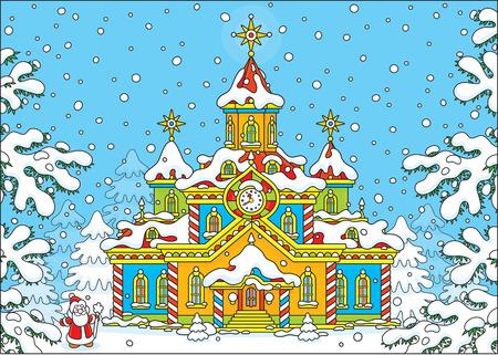 moroz: Santa Claus house