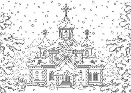 christmassy: Santa Claus house