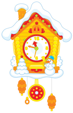 cuckoo: Christmas Cuckoo-Clock