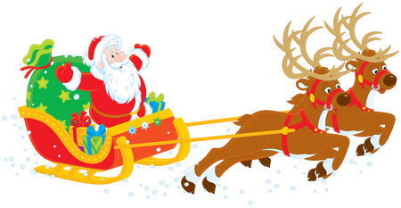 moroz: Sleigh of Santa Claus Illustration