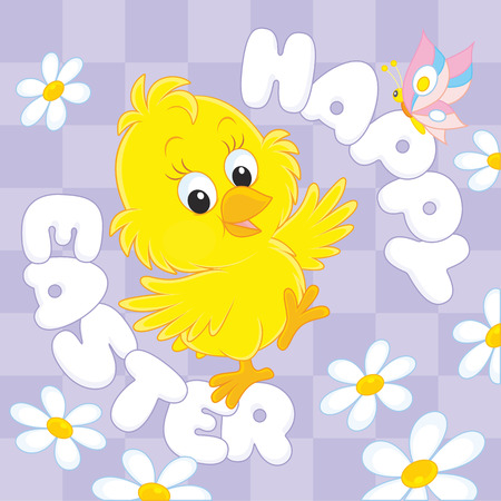 sprightly: Happy Easter Illustration