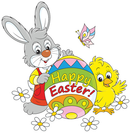 festal: Easter Bunny and Chick