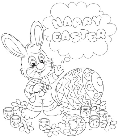 cartoony: Easter Bunny