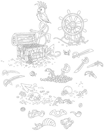sea robber: Pirate set