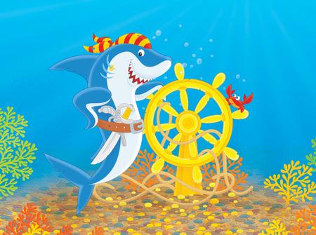 carcharodon: Pirate Shark