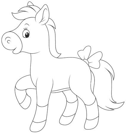 nag: Pony Illustration