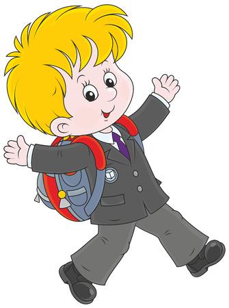 first grader: Schoolboy