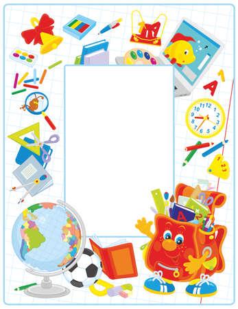 classbook: School frame