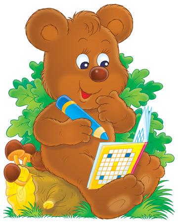 animated cartoon: Bear
