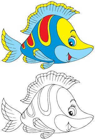 peces de acuario: Peces Foto de archivo