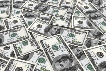 hundred dollar bill: Money background from dollars usa. Business concept