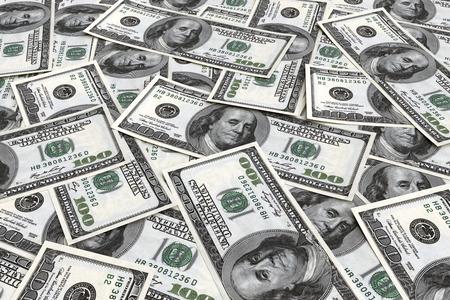 dollaro: Priorit� bassa dei soldi dai dollari usa. Concetto di business