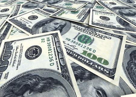 apilar: Fondo del dinero de dólares EE.UU.. Concepto de negocio