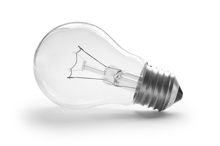 bulb isolated on white