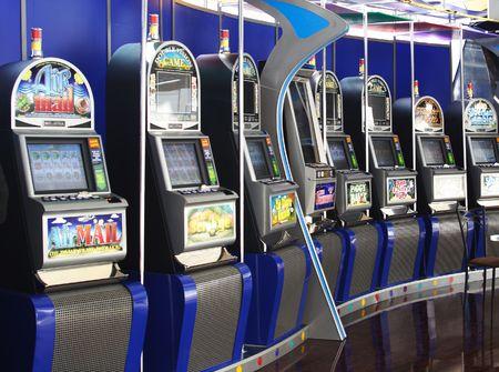 machines: Slot Machines Stock Photo