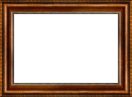 wood texture background: Antique wooden grungy background patterned photo frame isolated horizontal border