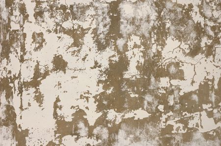 Old wall peeled off white paint texture abstract background photo