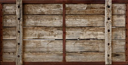 grunge textures: Large wooden crate boards grungy texture background