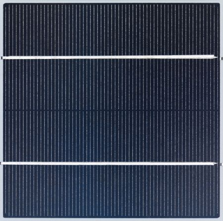 background texture: Polycrystalline solar cell close-up Stock Photo