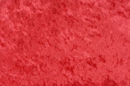 Shiny red fabric background texture Stock Photo - 6543934