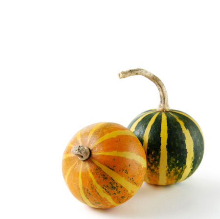 gourds: Two gourds isolated on white background