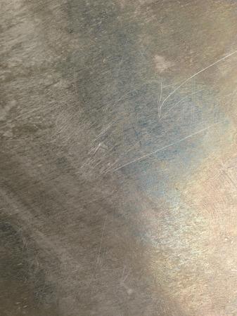 oxidated: Oxidado rayado grungy metal brillante textura de fondo