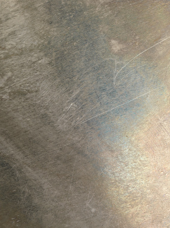 oxidized: Oxidized scratched grungy shiny metal texture background