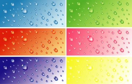 water bubble. vector illustration