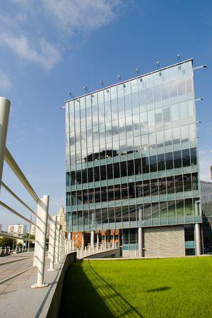 glas: modern architecture glas facade  Stock Photo