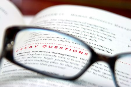 essay: words essay questions