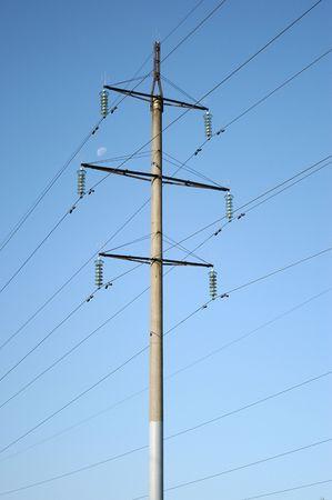 electricity transmission mast photo