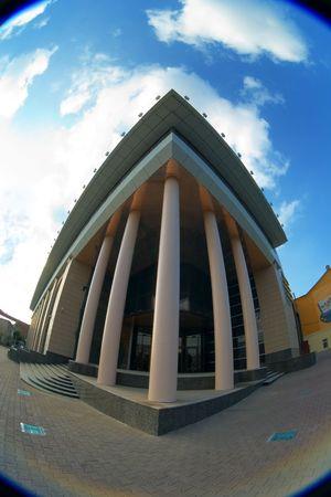 pilasters: Building in Ekaterinburg