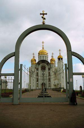 gate in church Stock Photo - 626156