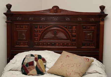 Antique Headboard photo