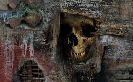 macabre: Gruesome Discovery - image is a combination of 3D rendering and several photos.