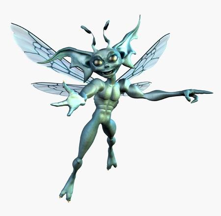 3d weird: Alien Pixie