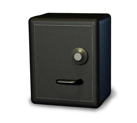 lockbox: Safe - 3D render