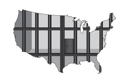 carcel: Una ilustración sobre la encarcelación en masa en los EE.UU.