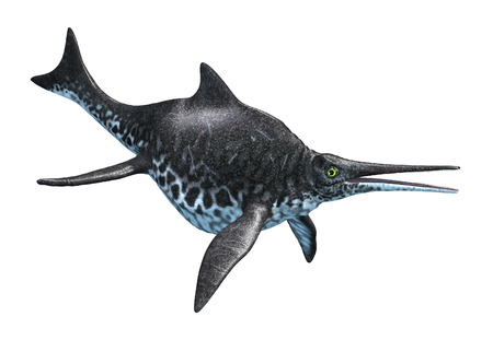 prehistoric animals: The Shonisaurus was an aquatic dinosaur that lived during the Late Triassic period.